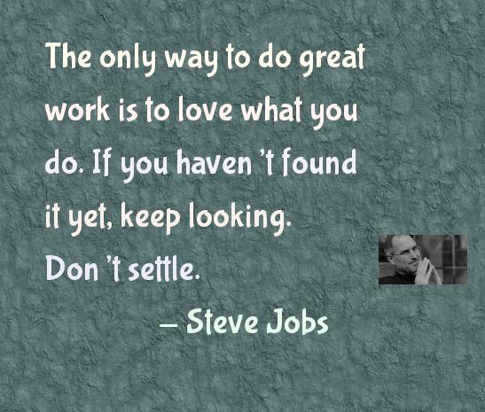 Inspirational Quotes By Steve Jobs: Joy In The Space For My Imaginations To Play
